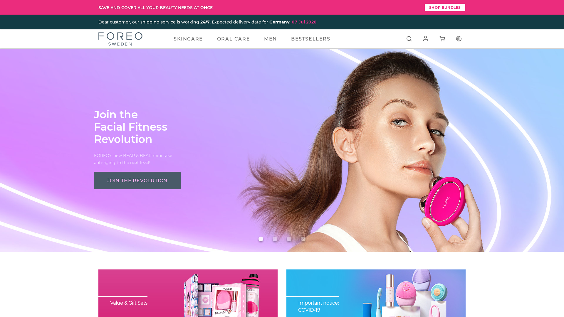 FOREO website