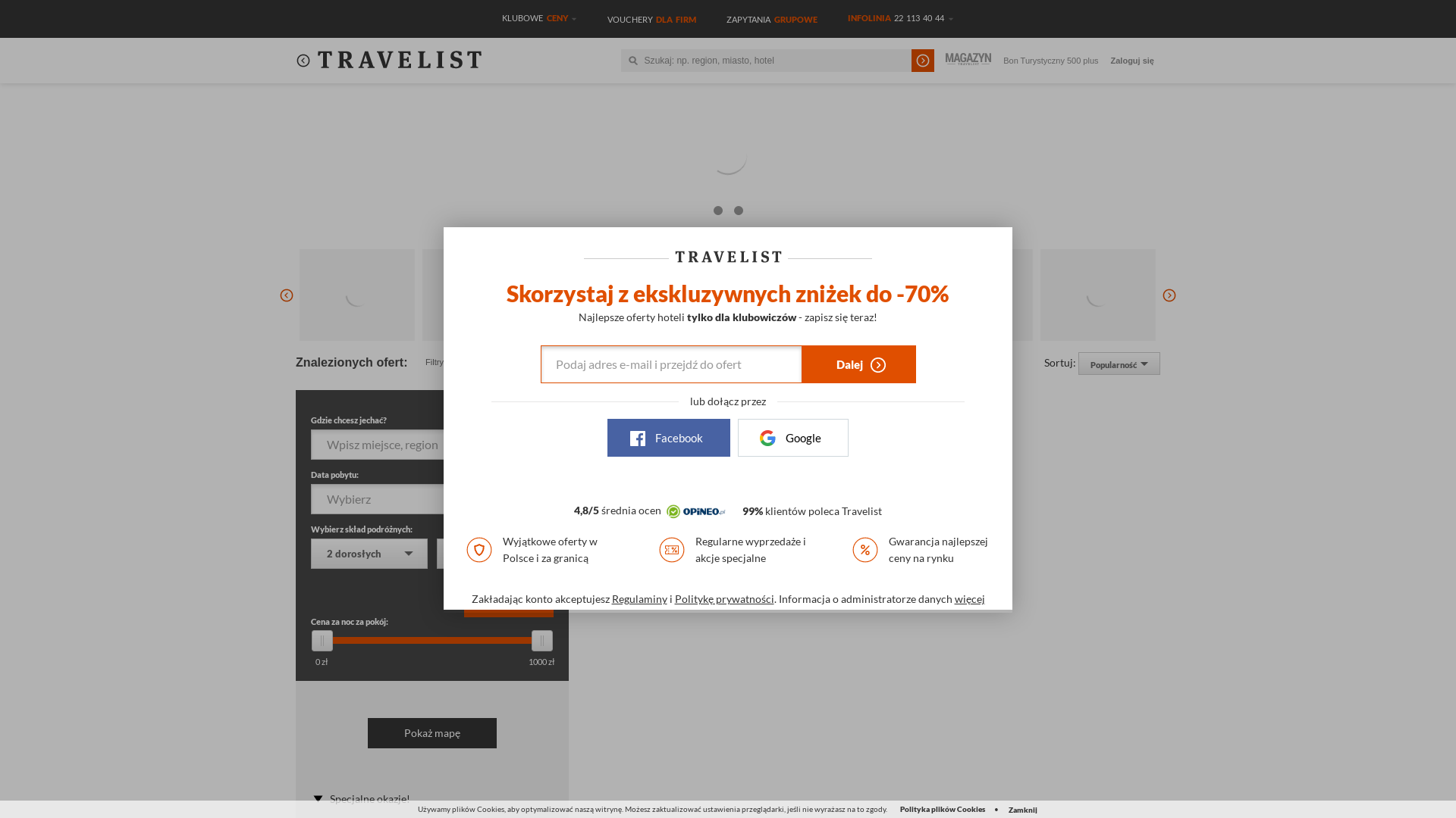 Travelist PL website