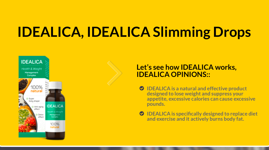 Idealica website